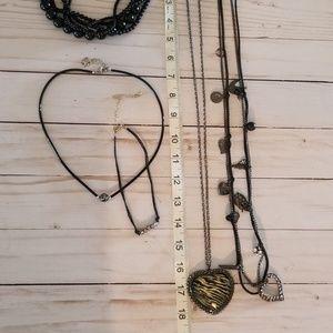5 PC necklaces